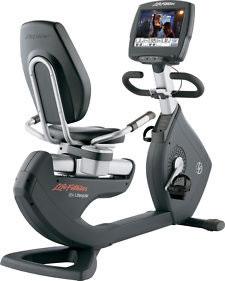 Life Fitness 95R Recumbent Bike