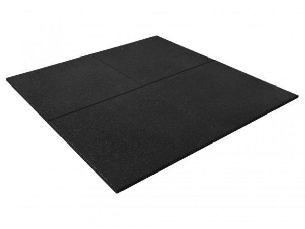 Rubber Flooring Tile Black