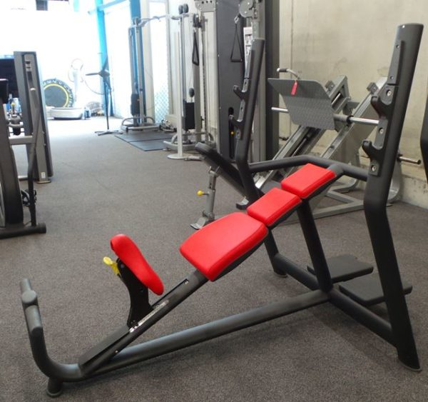 Commercial Incline Bench Press.