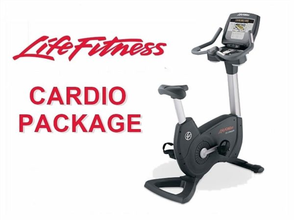 Life Fitness 5 Piece Cardio Package