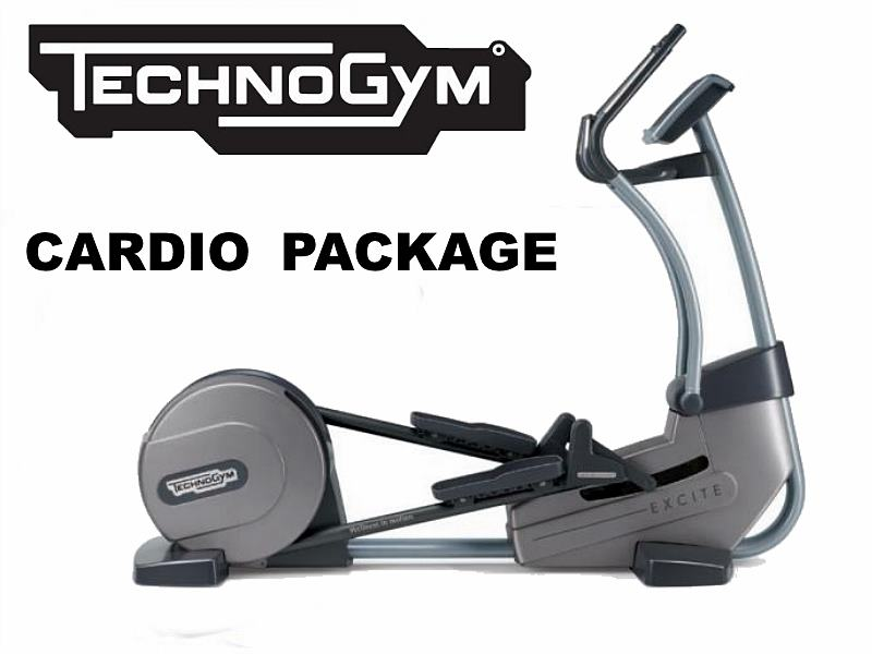 Technogym 4 Piece Cardio Package