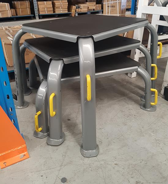 Set of 3 Solid Focus Plyometric Platforms