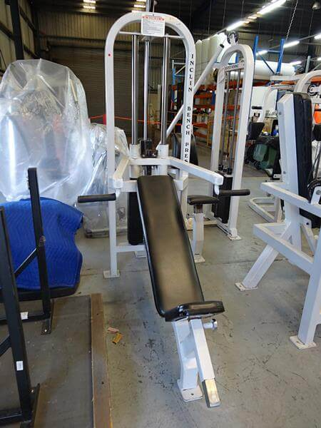 Body Power Incline Bench Press