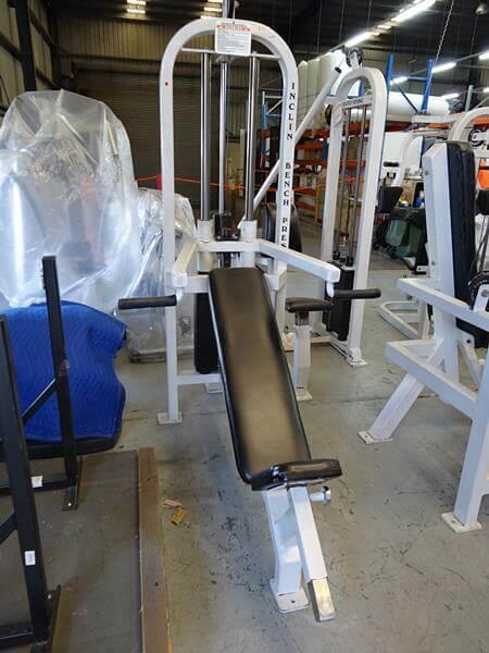 Body Power Incline Bench Press