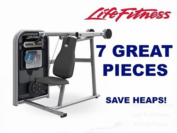 Life Fitness Circuit Series 7 Piece Strength Package