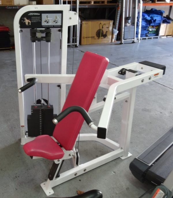 Life Fitness Shoulder Press