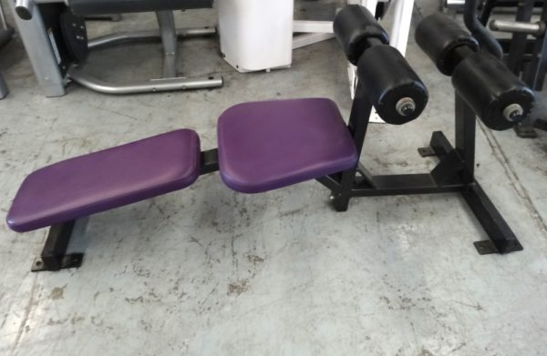 Hammer Strength Decline Ab Bench