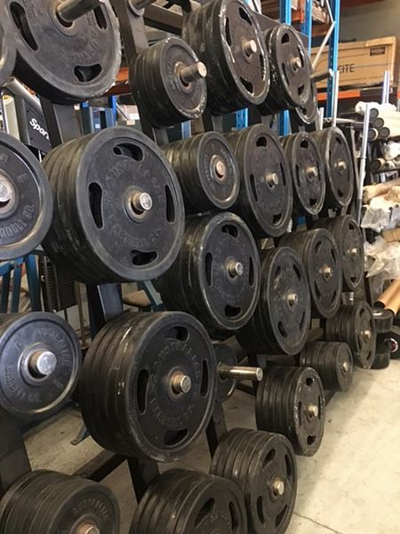 ABC Rubber Olympic Weight Plates