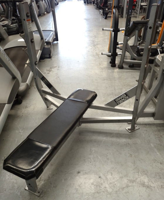 Hammer Strength Flat Bench Press