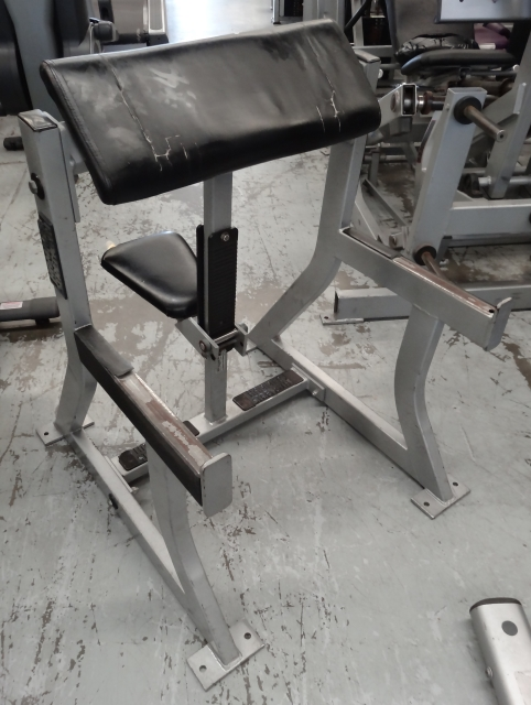 Hammer Strength Scott Bench