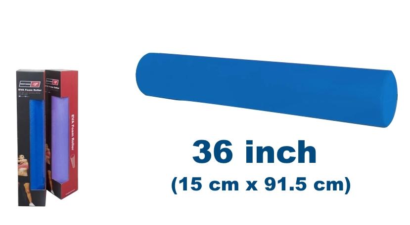 blue foam roller graphic base