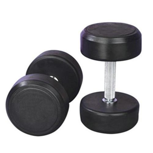 fixed-black-rubber-dumbbell
