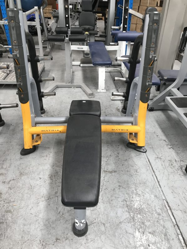 free weights and benches